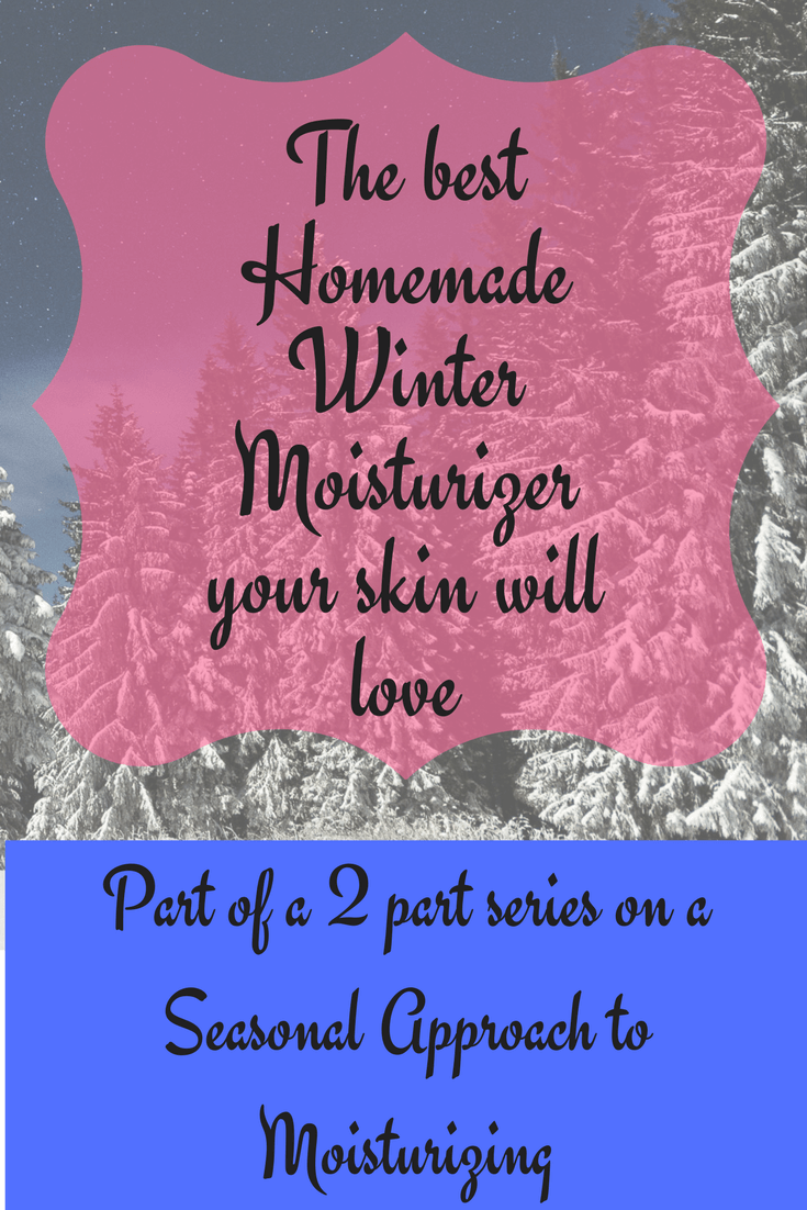 DIY Winter Moisturizer - Naturally in Italy