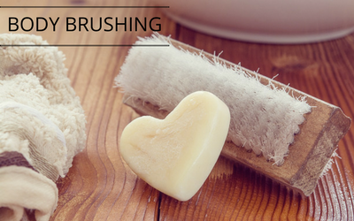 Body Brushing every day helps flush toxins away!
