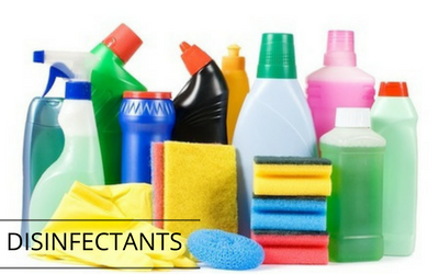 Why we don't use commercial disinfectants in our home