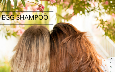 Egg shampoo Naturally in Italy