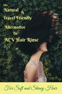 citric acid hair rinse Naturally in Italy